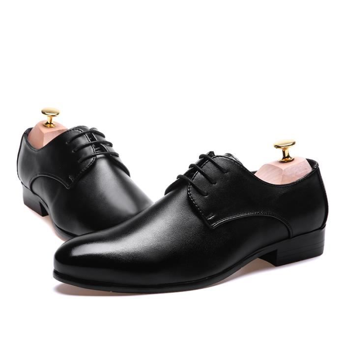 Homme Cuir Mocassin Chaussures Formel Flats No... V7rvFejOlm