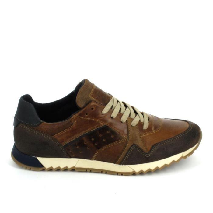 Chaussure de ville MUSTANG Sneakers 302301 Marron