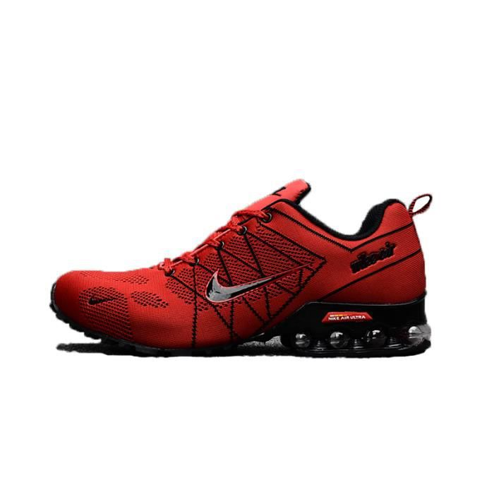 7621235c4100 NIKE Airmax 2018 Homme Basket Running Chaussures rouge Taille 40-45 ...