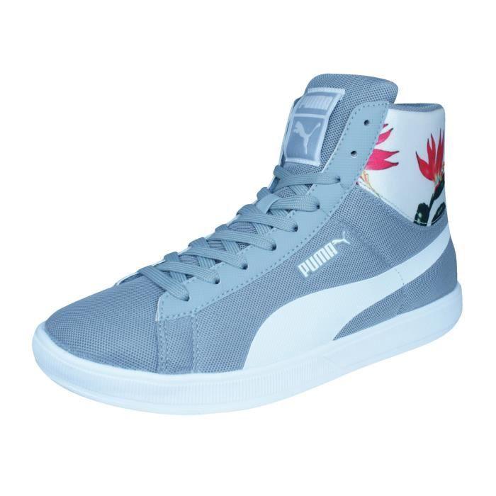Puma Archive Lite Mid Mesh RT Flora Baskets hommes - Chaussures Gris 5 XC29a50