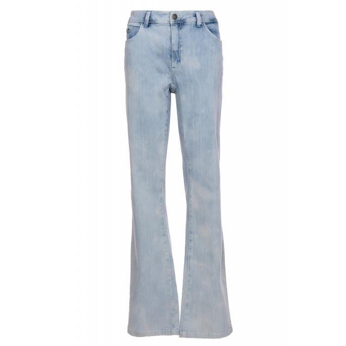 7e8e215bef80c Sheego Jeans stretch pour femme en bleu surdimensionné avec un lavage à la  mode