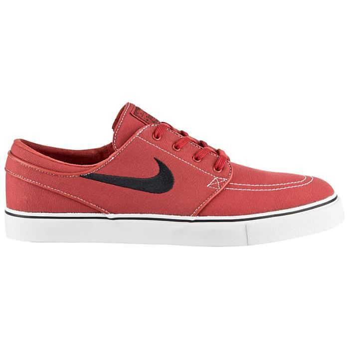2466081ed14 Nike Zoom Stefan Janoski CNVS 615957-600 Chaussures Homme Sneaker Baskets  Rouge
