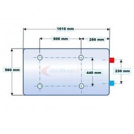 Audacieuse Chauffe-eau électrique 150L mural horizontal - - Achat / Vente IP-09