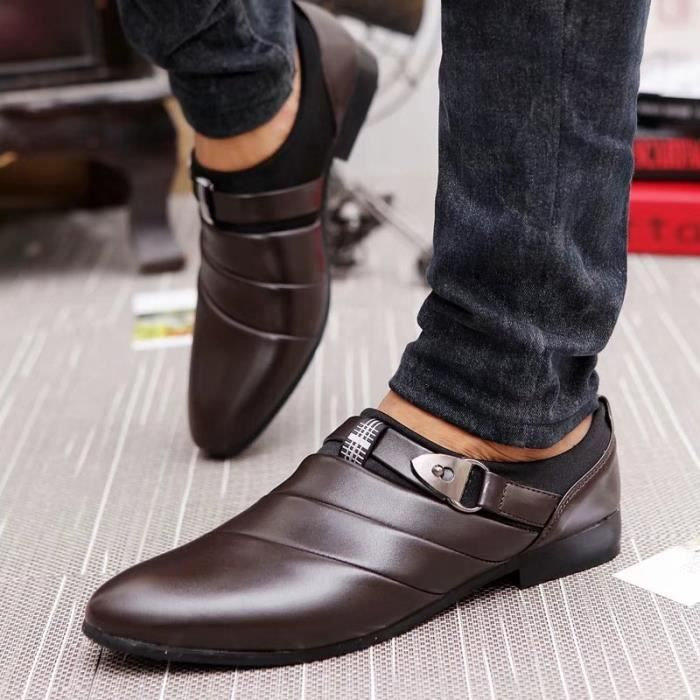 Cuir Homme Mocassin Chaussures Formel Flats