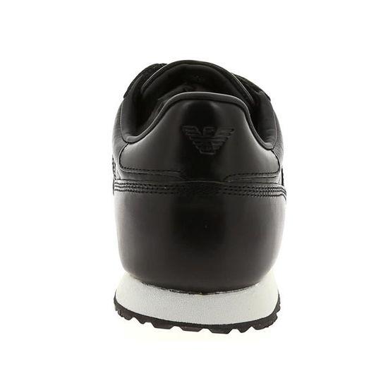 Baskets basses - - ARMANI 5027 Noir Noir - - Achat / Vente basket 57513a