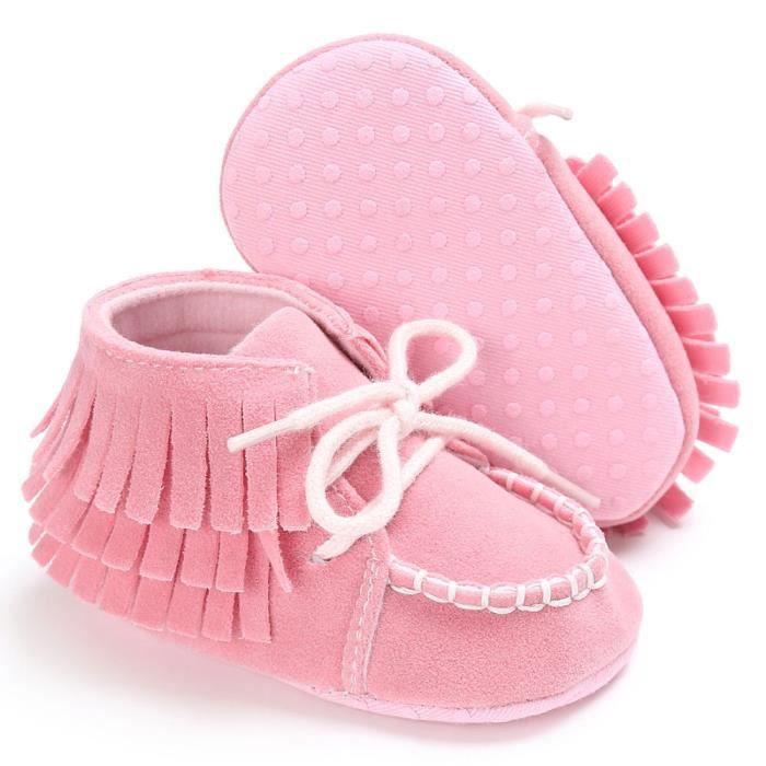 BOTTE Bébé nouveau-né gland semelle souple chaussures garçons filles anti-dérapant bambin prébalker@RoseHM vKAczIY