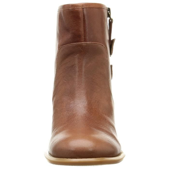 Nine West Justthis Leather Boot RUU50 Taille-41