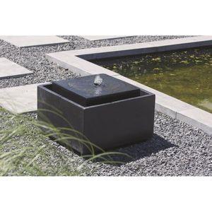 UBBINK Fontaine de jardin Sonora 50x50x33cm - Noir