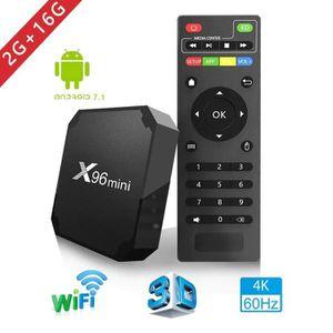 BOX MULTIMEDIA X96mini Smart TV BOX Quad Core Android 7.1.2 2+16