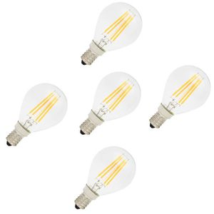 AMPOULE - LED 5X E14 Ampoule de Filament LED 4W Lampe à Filament