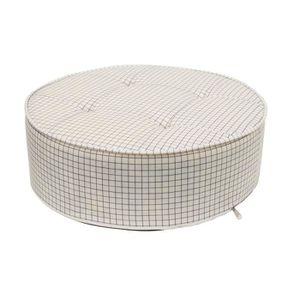 COUSSIN - MATELAS DE SOL Coussin de sol rond carreaux diam50 50 x 50 Beige