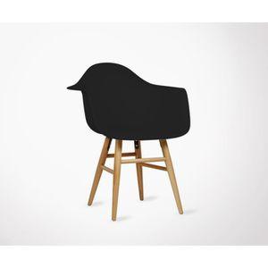 Fauteuil Design Pieds Bois Achat Vente Pas Cher - Achat fauteuil design