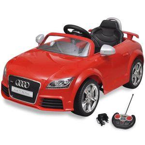 VOITURE ENFANT Voiture électrique pour enfant Audi TT RS rouge av