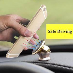 FIXATION - SUPPORT support téléphone voiture aimanté 360° or