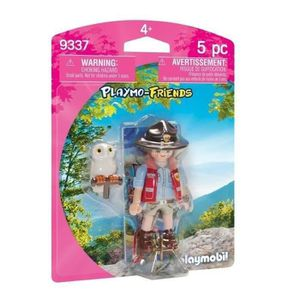 FIGURINE - PERSONNAGE PLAYMOBIL 9337 - Garde Forestière