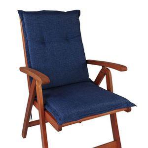 COUSSIN D'EXTÉRIEUR 1x Coussin pour chaises pliantes de jardin 'Comfor