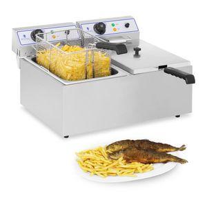 FRITEUSE ELECTRIQUE Friteuse électrique professionnelle Royal Catering
