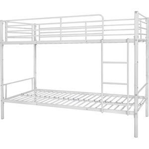 LITS SUPERPOSÉS vidaXL Cadre de lit superposé pour enfants 200 x 9