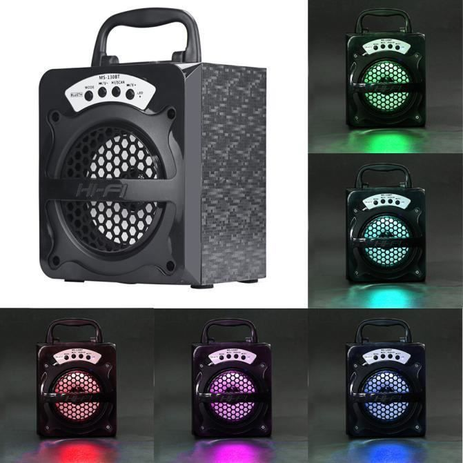 Extérieur Sans Fil Bluetooth Haut-parleur Portable Super Bass Avec Radio Usb - Tf Aux Fm@basilesmile180