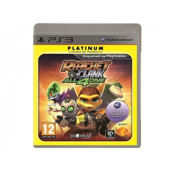 JEU NEW 3DS - 3DS XL JEU PS3 RATCHET CLANK ALL 4