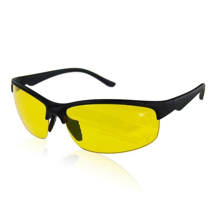 Oule - Lunette de soleil - Sportif - Femme noir noir/jaune Z1sMiNR2c