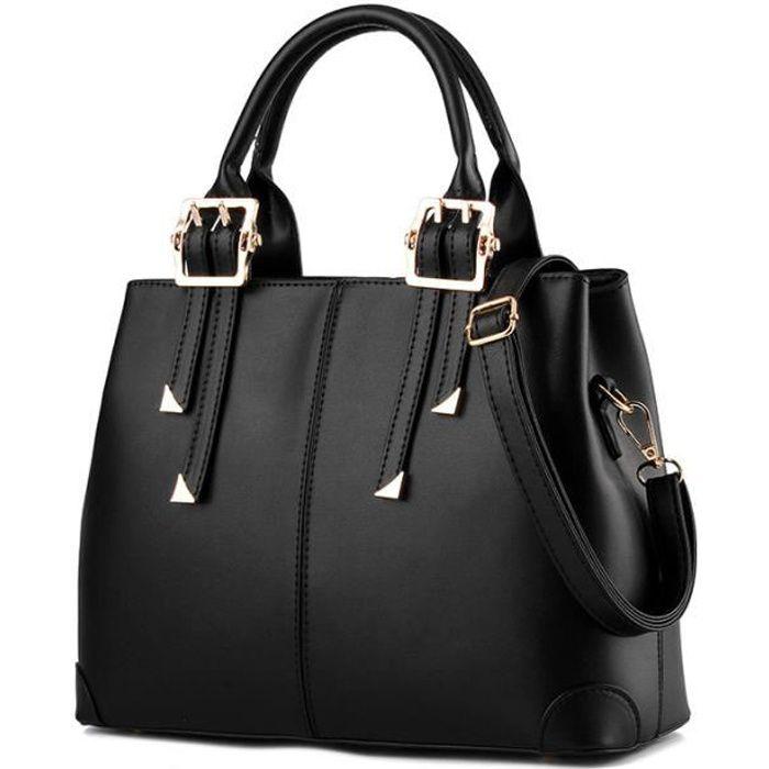 sacs main noir femme pas cher. Black Bedroom Furniture Sets. Home Design Ideas