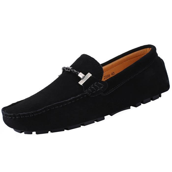 Chaussures Mocassins Jamronélégantes De Pour Hommes Qualité Bonne Suede wzvzqEnp