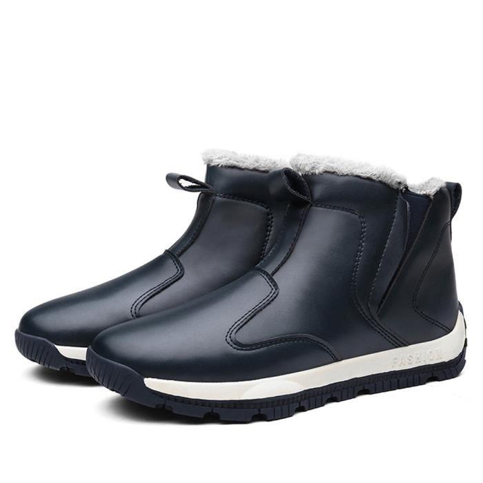 Marque Chaussures Respirant 39 laine Sneaker De en bleu Homme Pour 45 Chaussure Chaussures Grande doublure Taille Hommes Luxe 39 de 5n4IvqqW