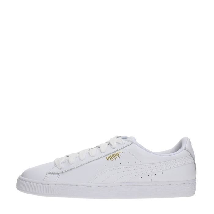 PUMA Sneakers Homme WHITE, 40