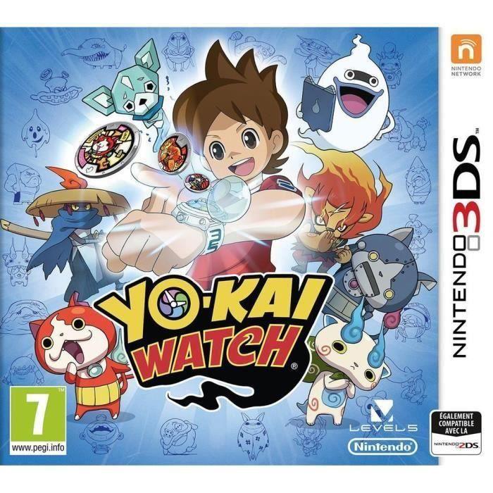 JEU 3DS Yo-Kai Watch Jeu 3DS