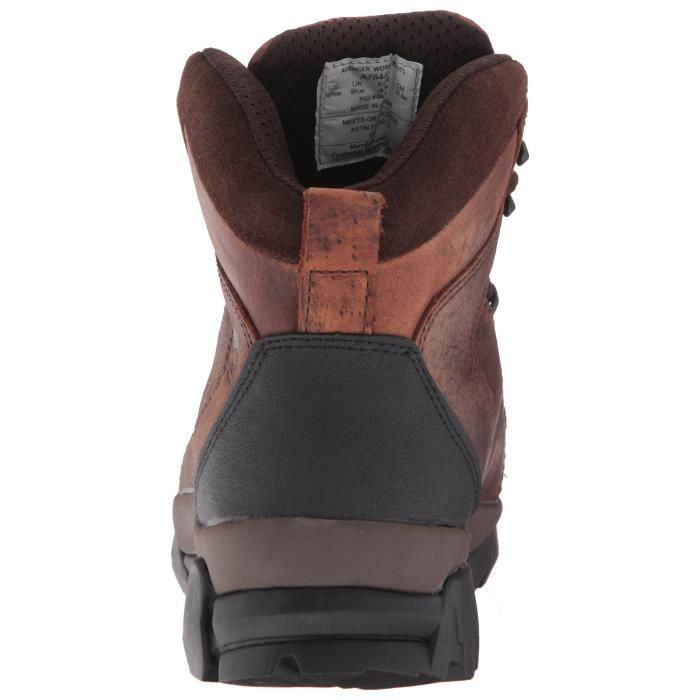 7644 cuir imperméable Toe souple Non Eh Métal Industriel Et Hiker Chaussures de construction INVWI Taille-42 1-2 Mk59Em8