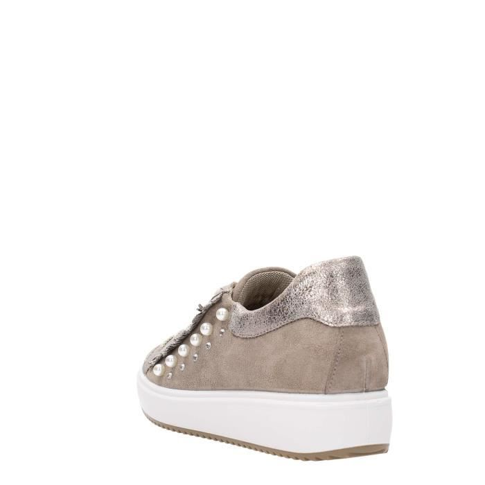 Igi&co Sneakers Femme Taupe, 40