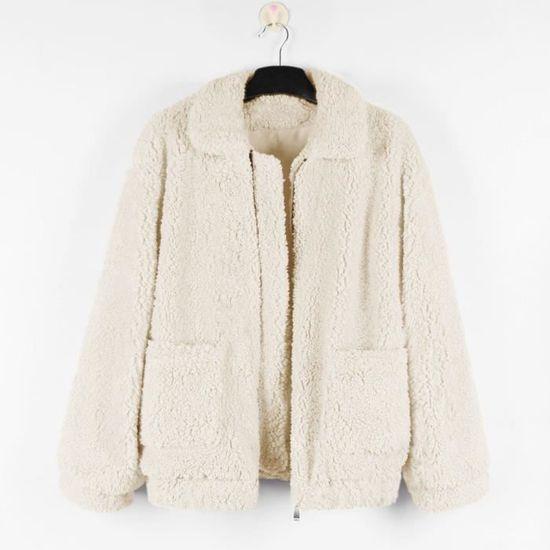 Pardessus Chaud Parka Femmes Dames Casual Hiver Veste Outwear Beige Manteau Zly80830781bgs tqwwPOB0C