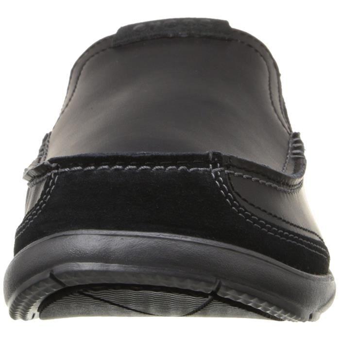 Crocs Espadrilles à glissière en cuir walu luxe pour homme AJ5OW mwH1q