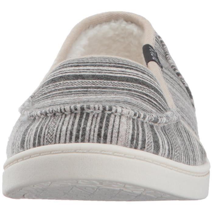 Roxy Minnow Wool V Slip On Shoe Flat MYS31 Taille-38 1-2
