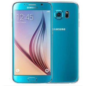 TELEPHONE PORTABLE RECONDITIONNÉ Samsung Galaxy S6 Bleu 32Go Reconditionné Téléphon