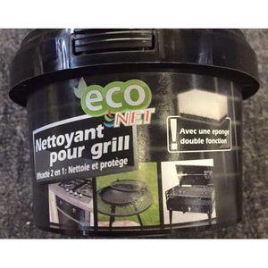 NETTOYAGE MULTI-USAGE ECO NET - Nettoyant pour Grill - Eponge double fon