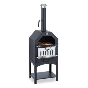 FOUR À PIZZA Klarstein Pizzaiolo - Four à bois - charbon fumoir