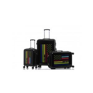 SET DE VALISES Set de 3 valises rigides 8 roulettes Flag Little M