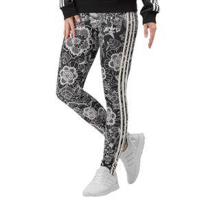 LEGGING adidas Femme Pantalons   Shorts   Leggings Florido 2a8f069dcfe