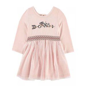 ROBE Robe coton et tulle rose bébé fille ikks. Robe coton et tulle rose bébé  fille ikks. Vêtement bébé fille du 6 mois au 2 ans. 23b557ce68a