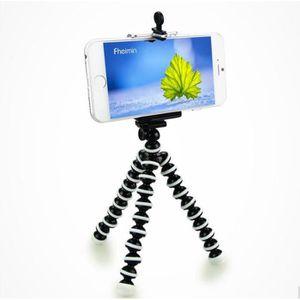 MONOPOD Téléphone Titulaire Mini Jambe Flexible Octopus Tr