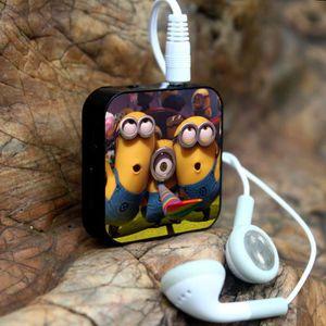 MP3 ENFANT 1Pcs Minions exercice en cours Mini lecteur MP3 +