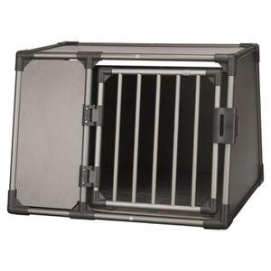 CAISSE DE TRANSPORT TRIXIE Box de transport - Aluminium - L : 92 x 64
