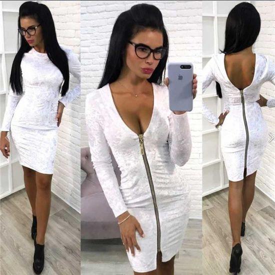 Femme Sexy Crayon Chic 2018 Printemps Ete Nuit Court Vêtements Jupe v8n0OmNw