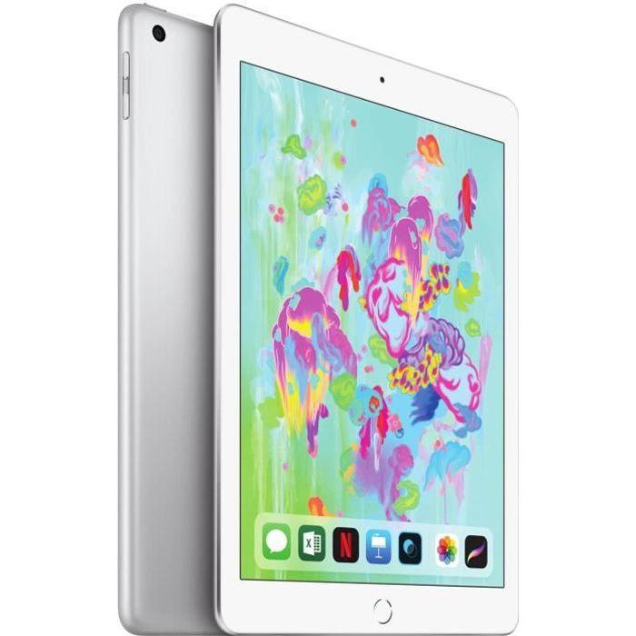 """TABLETTE TACTILE APPLE iPad 9,7"""" - Wi-Fi - Ecran Rétina - 128Go - A"""