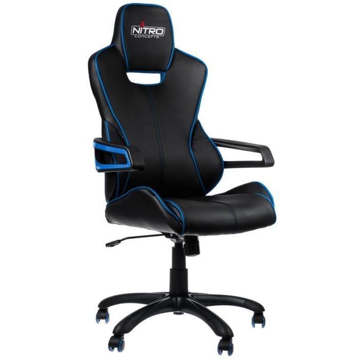 NITRO CONCEPTS Fauteuil Gaming Nitro Concepts E200 Race - Noir/bleu