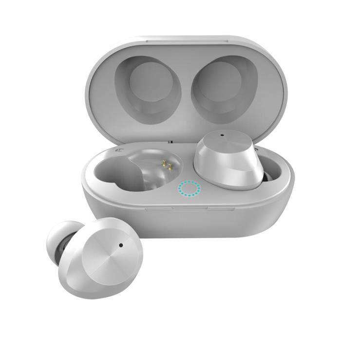 Étanche Binaural Bluetooth 5.0 Vrai Wireless Mini Casque Courir @yunsoel4750