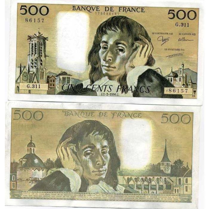 billet de banque francais le plus cher