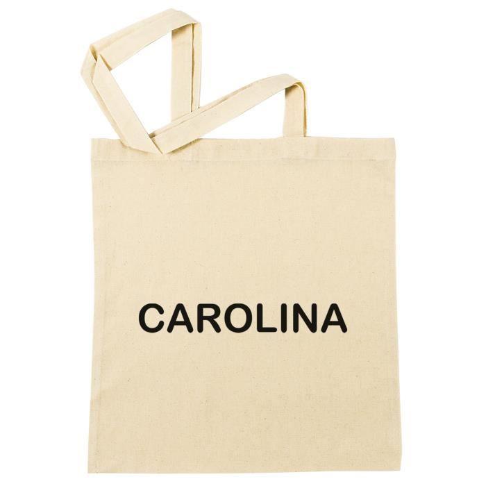 Sac à Provisions - Carolina  Plage Coton Réutilisable Shopping Bag Beach Reusable - B-50286 - B-50286